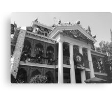 Haunted Mansion Photograph  Metal Print