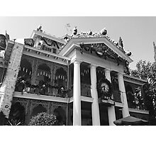 Haunted Mansion Photograph  Photographic Print