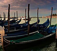 Gondola parking by joeferma
