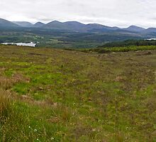 The Highlands Panorama by Adrian Alford Photography