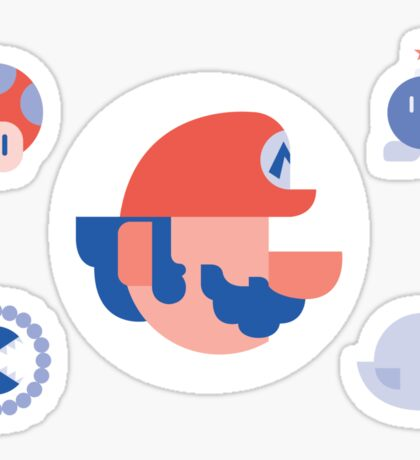 Mario's 30th Anniversary Sticker
