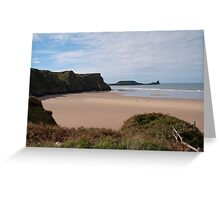 Rhosilli Bay and Wormshead, The Gower Greeting Card
