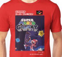 Super Mario Galaxy Retro Nintendo Super Famicom Style Cover Art Shirt Unisex T-Shirt