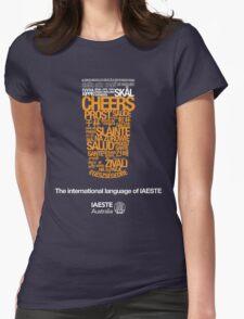 IAESTE Australia 'Cheers' Womens Fitted T-Shirt