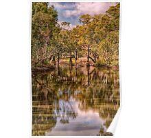 Gundagai Reflections - Gundagai NSW - The HDR Experience Poster