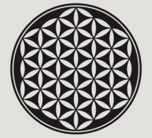 FLOWER OF LIFE - SACRED GEOMETRY - HARMONY & BALANCE T-Shirt