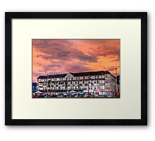 SAINT CHADS HOTEL Framed Print