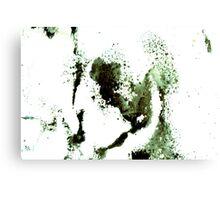 sponging ink Canvas Print