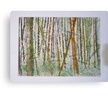 Japanese Bamboo Forest Canvas Print