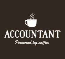 Accountant. Powered by Coffee by careers