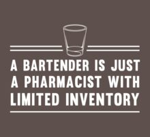 A bartender is just a pharmacist with limited inventory by careers