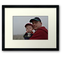 Like Father Like Son Framed Print