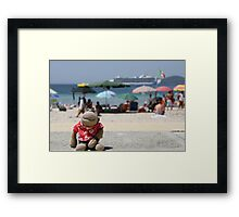 Jimmy the tourist Framed Print
