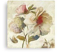 White Flower - Digital Art Print  Canvas Print