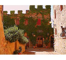 A Warm Tuscan Light Photographic Print