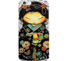 Little Multicolour Teapot Floral  iPhone Case/Skin