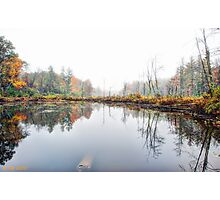 Backwoods Autumn Photographic Print