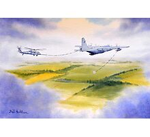 KC-130 Tanker And Pave Hawk HH60 Photographic Print