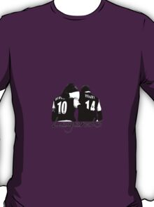 Dennis Bergkamp and Thierry Henry - Legends DB10 TH14 T-Shirt