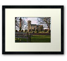 St Thomas's, Green Hammerton Framed Print