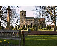 St Thomas's, Green Hammerton Photographic Print