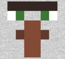 Minecraft - Villager Face Kids Clothes
