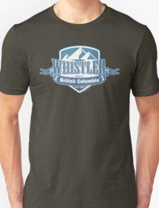 Whistler British Columbia Ski Resort Unisex T-Shirt