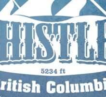 Whistler British Columbia Ski Resort Sticker