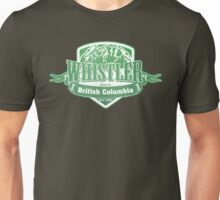 Whistler British Columbia Ski Resort Unisex T-Shirt