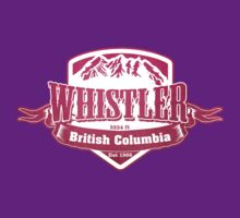 Whistler British Columbia Ski Resort by CarbonClothing