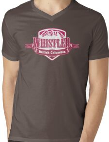 Whistler British Columbia Ski Resort Mens V-Neck T-Shirt