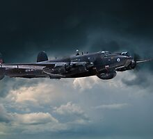 Avro Shackleton 'Ermintrude' by J Biggadike