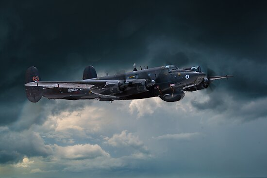 Avro Shackleton 'Ermintrude' by James Biggadike