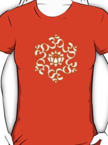 OM LOTUS - Buddhism - Symbol of spiritual strength  T-Shirt