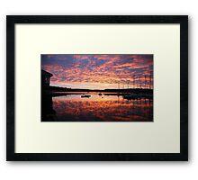 Scilly sunrise Framed Print