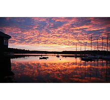 Scilly sunrise Photographic Print