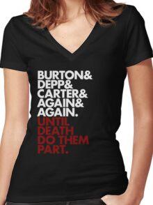 Platinum Trio Women's Fitted V-Neck T-Shirt