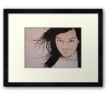 Björk (2011) Framed Print