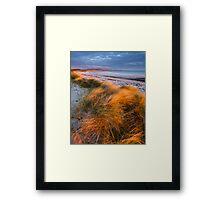 Last Rays, Benbecula Framed Print
