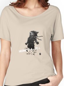 Meowtal Fur Solid 4 Women's Relaxed Fit T-Shirt