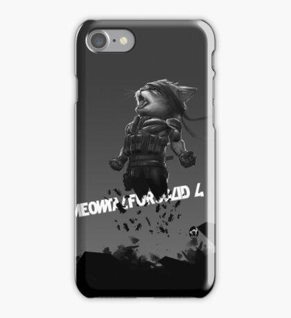 Meowtal Fur Solid 4 iPhone Case/Skin