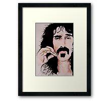 Frank Zappa (2011) - Orignal Sold  Framed Print