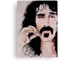 Frank Zappa (2011) - Orignal Sold  Canvas Print
