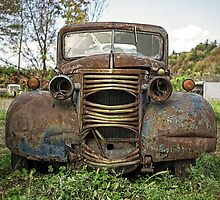 Old Junker Car by Edward Fielding