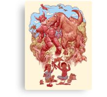 Role playing Canvas Print