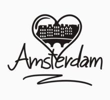 Amsterdam Heart T-Shirt