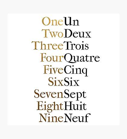 Ten Duel Commandments/Take A Break (Hamilton: An American Musical) Photographic Print