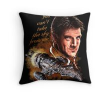 Firefly - You Can't Take The Sky From Me. Throw Pillow