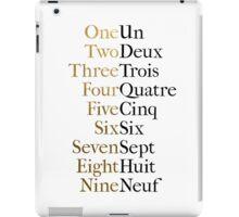 Ten Duel Commandments/Take A Break (Hamilton: An American Musical) iPad Case/Skin