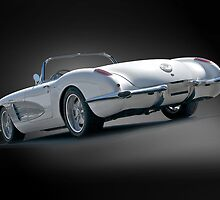 1959 Corvette Roadster Studio I by DaveKoontz